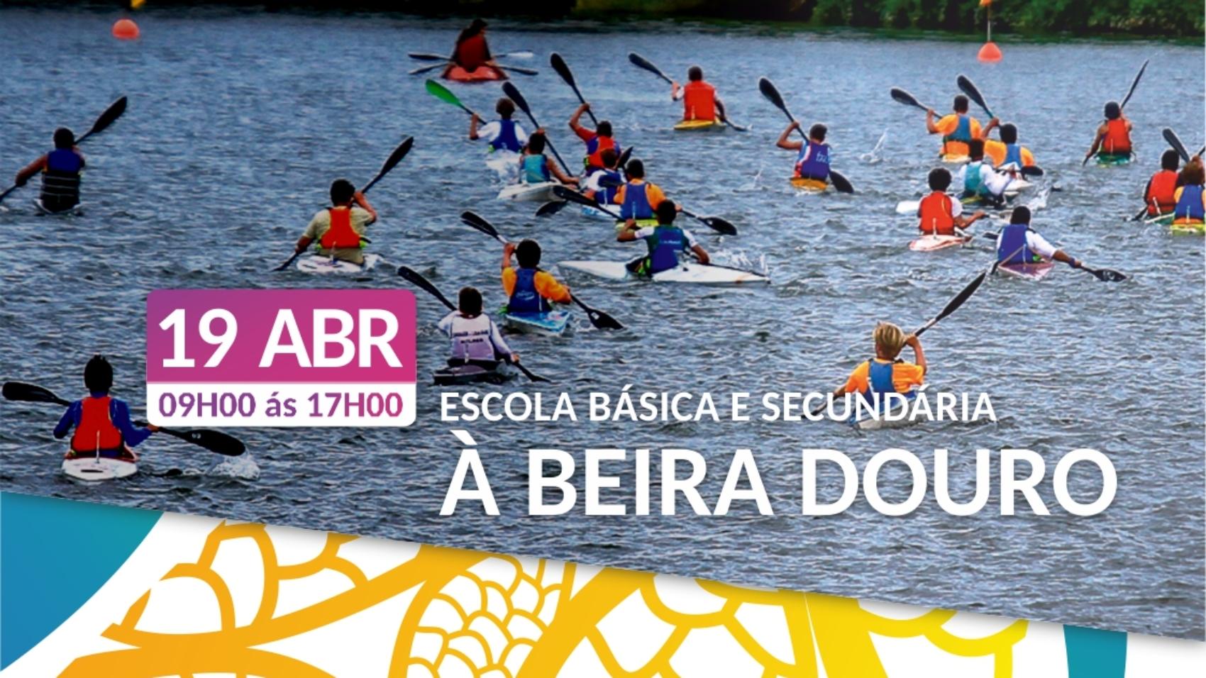 A Canoagem vai à Escola blog Douro Canoa Clube