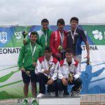 Juniores do DCC Campeões Nacionais de Maratona blog Canoagem Divulgação Douro Canoa Clube 2
