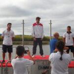 Francisca Ribeiro e Pedro Paiva Campeões Regionais de Velocidade blog Canoagem Douro Canoa Clube