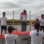 Francisca Ribeiro e Pedro Paiva Campeões Regionais de Velocidade blog Canoagem Douro Canoa Clube 1