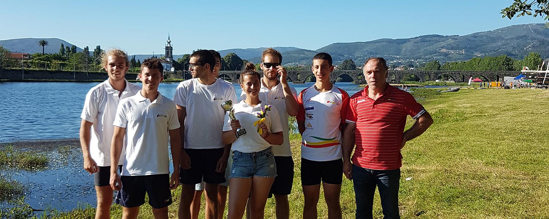 DCC em 9º no Campeonato Nacional de Maratonas blog Canoagem Divulgação Douro Canoa Clube