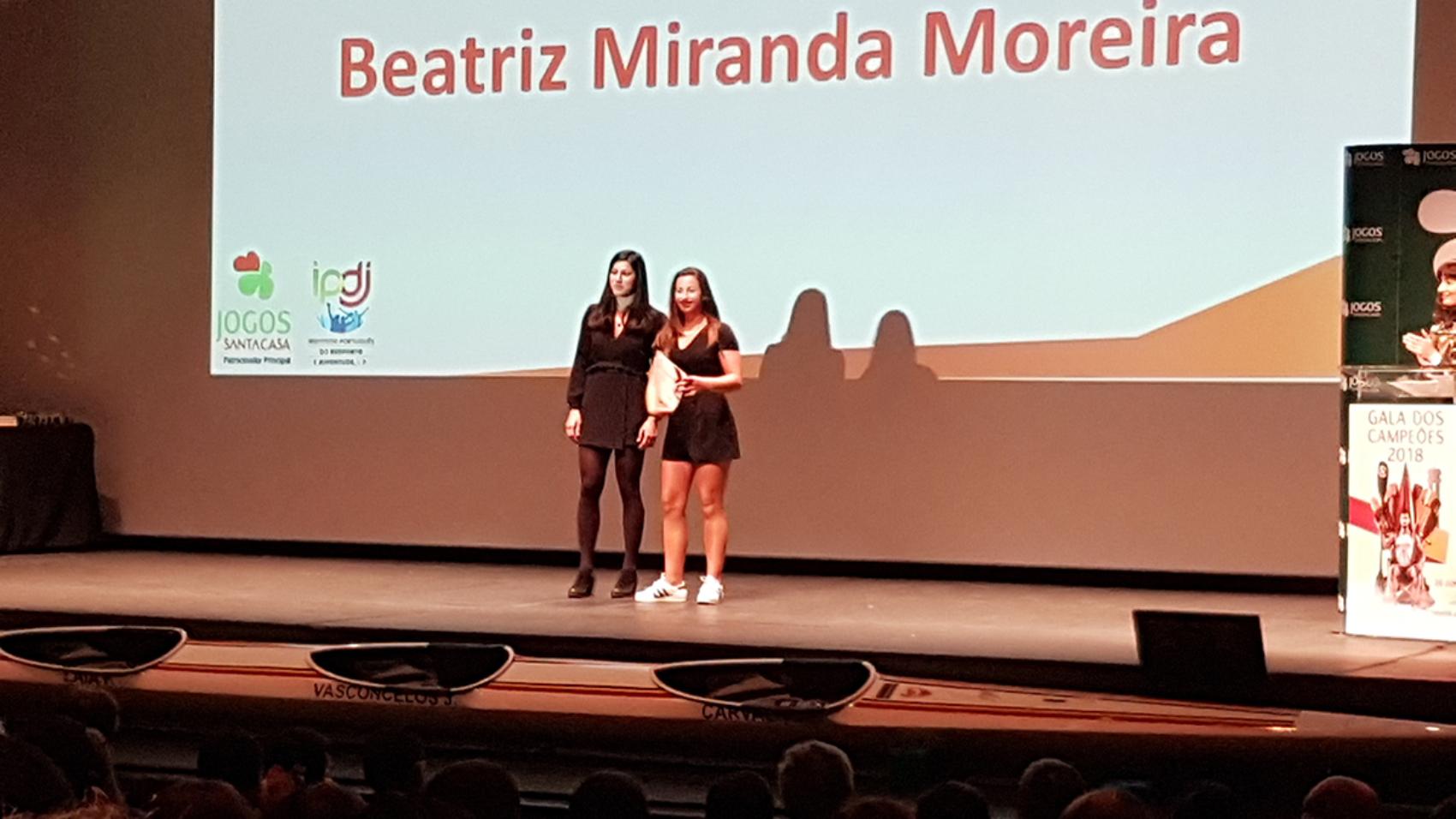 Beatriz Moreira homenageada na Gala dos Campeões da FPC blog Canoagem Destaque DCC Divulgação Douro Canoa Clube